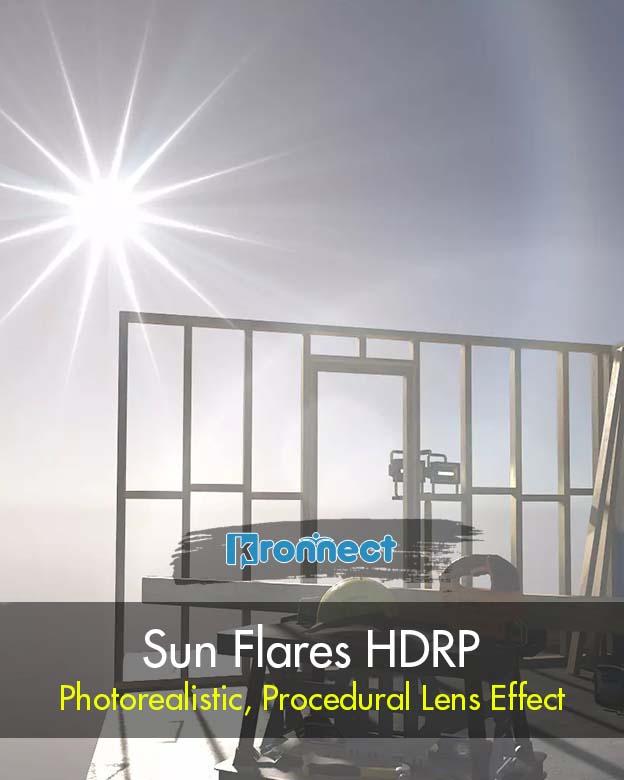 Sun Flares HDRP