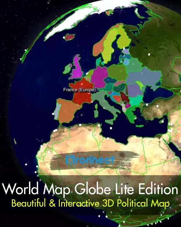 World Map Globe Lite Edition