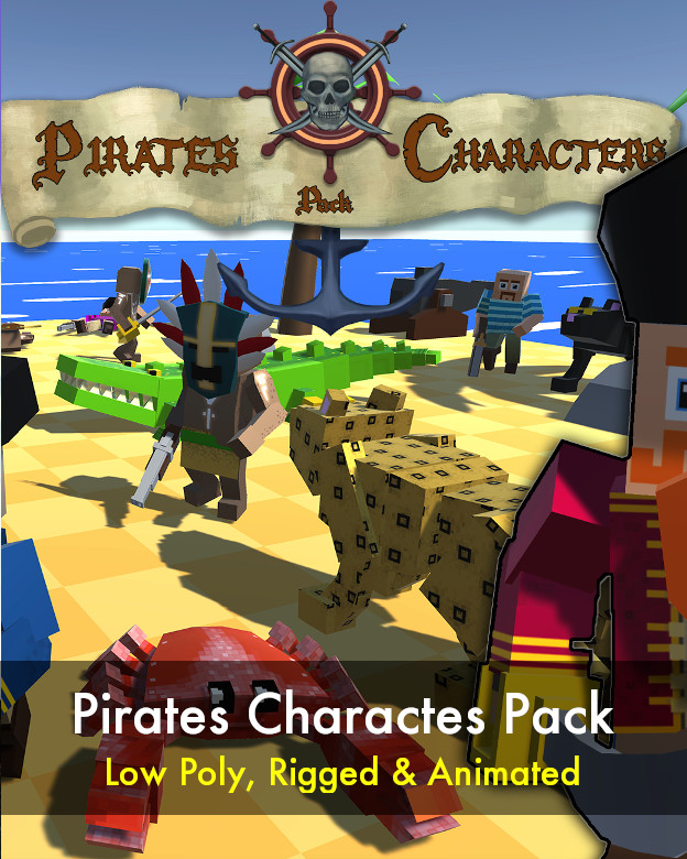 Pirates Characters Pack