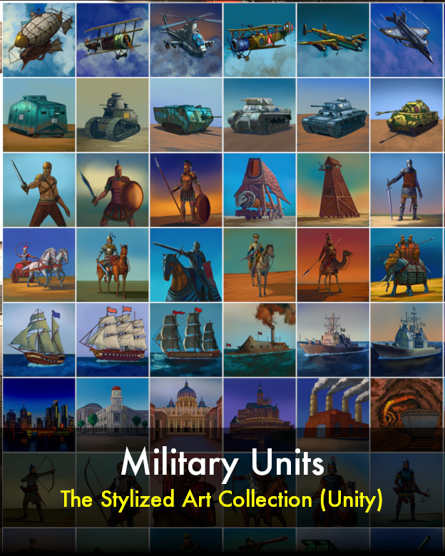 Military Units (The Stylized Art Collection)